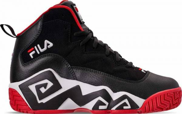 black fila shoes
