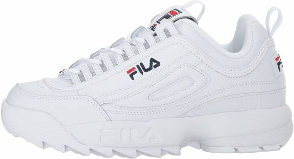 fila white shoes